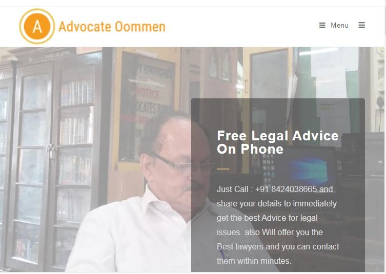 Advocate Oommen