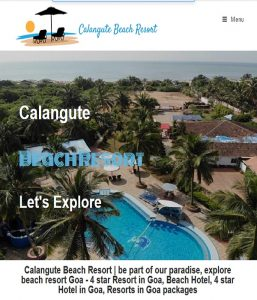 Calangute Beach Resort