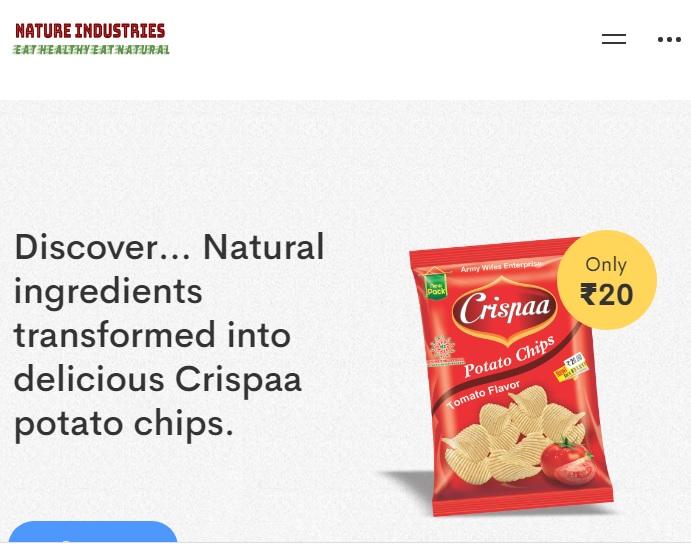 Crispaa Potato Chips Satisfy Your Taste – Nature industries