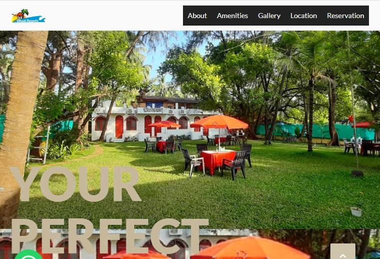 5 Simple Techniques For Guest House Website Design With Booking Engine in Calangute Goa