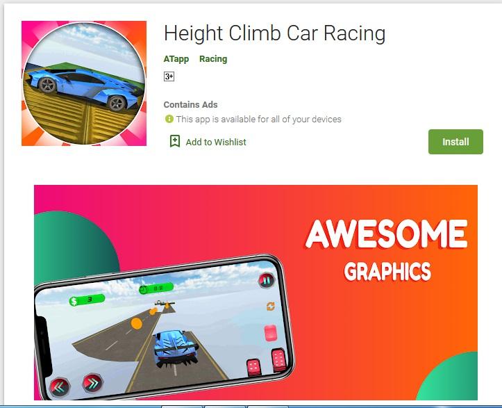 Height Climb Car Racing